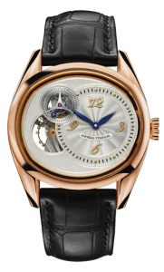 The Sauterelle hand made luxury watch by Andreas Strehler
