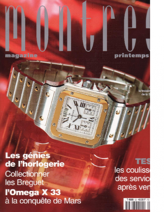1999 Montres, Frühling