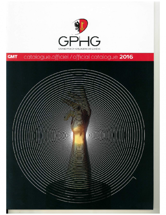 2016 GPHG official catalogue