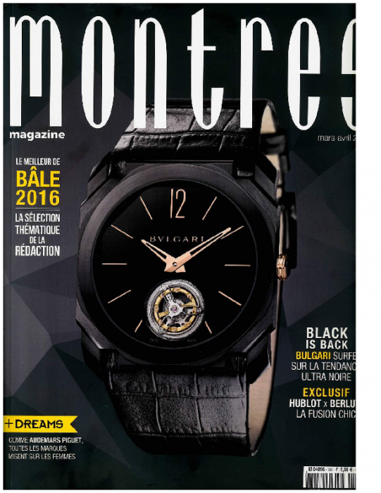 2016 montres, mars-avril No102