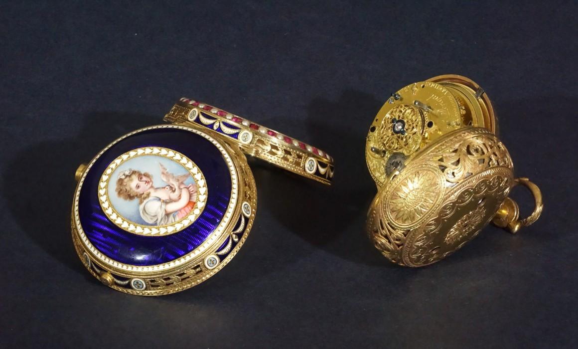 Restoration of a 1770 pocket watch