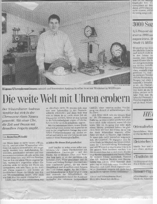 1999 Tages-Anzeiger 30. April