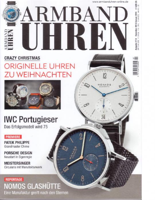 2014 Armband-Uhren Dez-Jan
