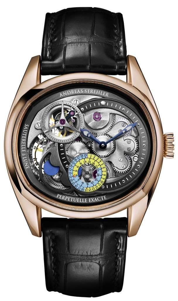 Lune Eaxcte watch by Andreas Strehler - Swiss watchmaker