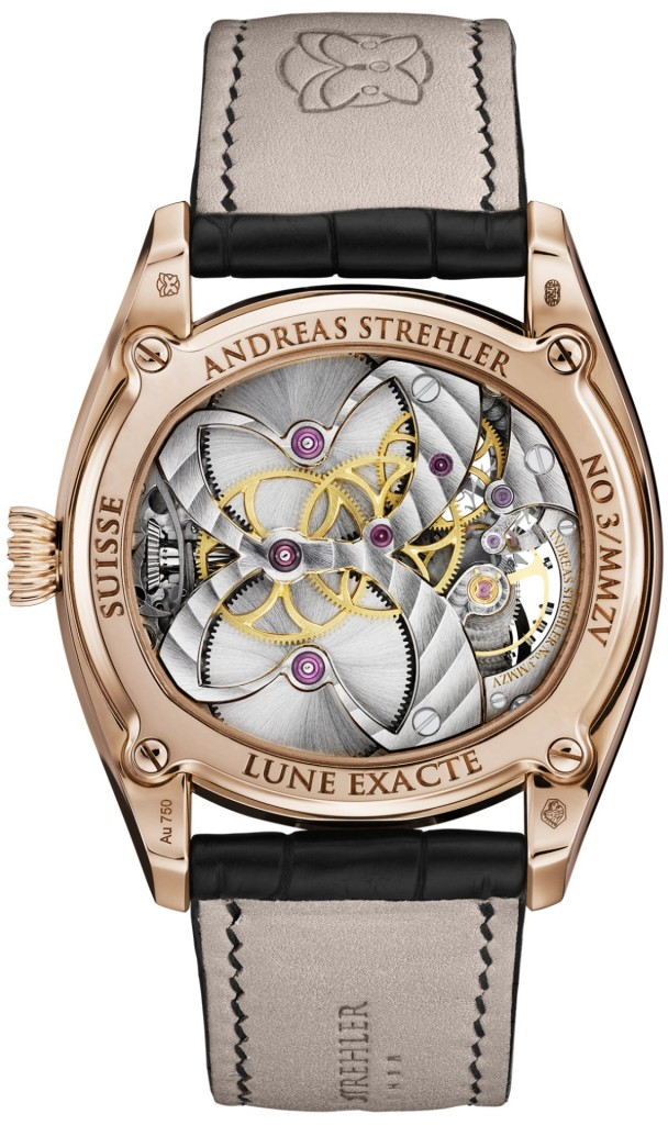 Lune Exacte watch by Andreas Strehler Swiss watchmaker