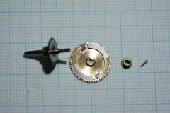 Mainspring wheel