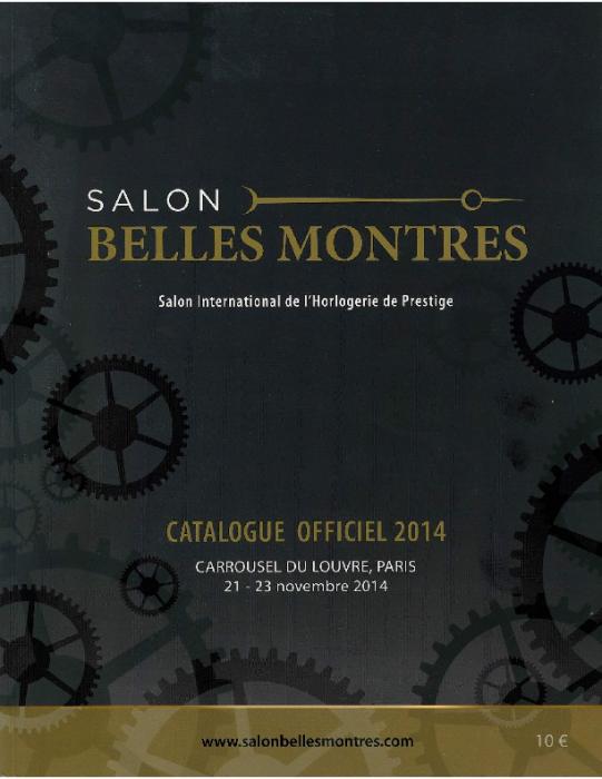 2014 SALON BELLES MONTRES