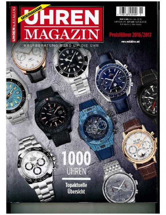 2016 UHREN Magazin