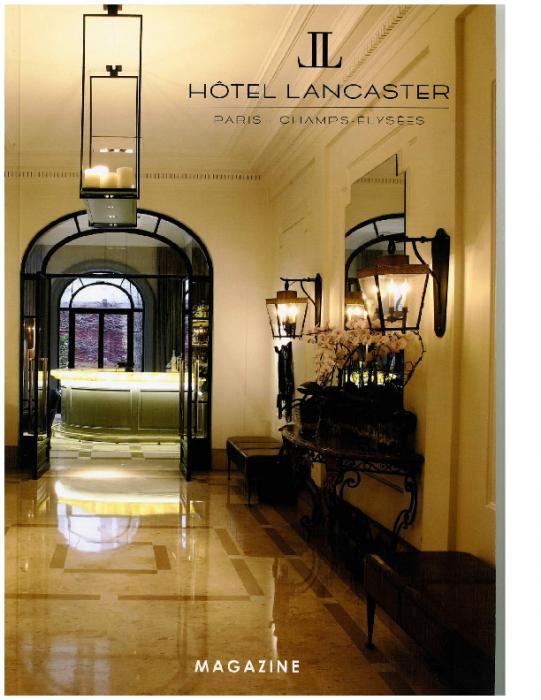 2016 HOTEL LANCASTER MAGAZINE