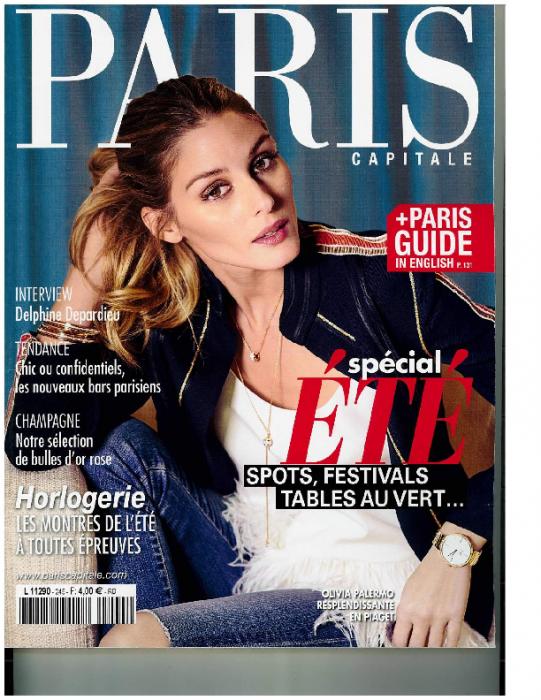 2016 Paris Capitale – juin-juillet, No205