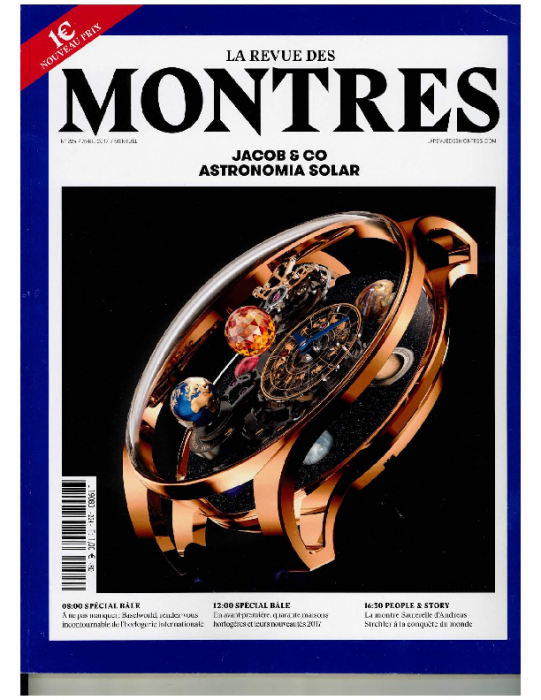 2017 MONTRES 224, Avril