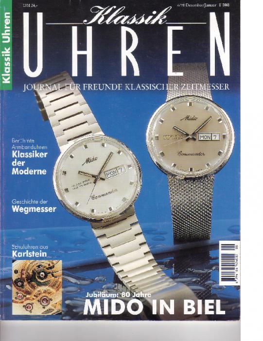 1998 Klassik-Uhren 6