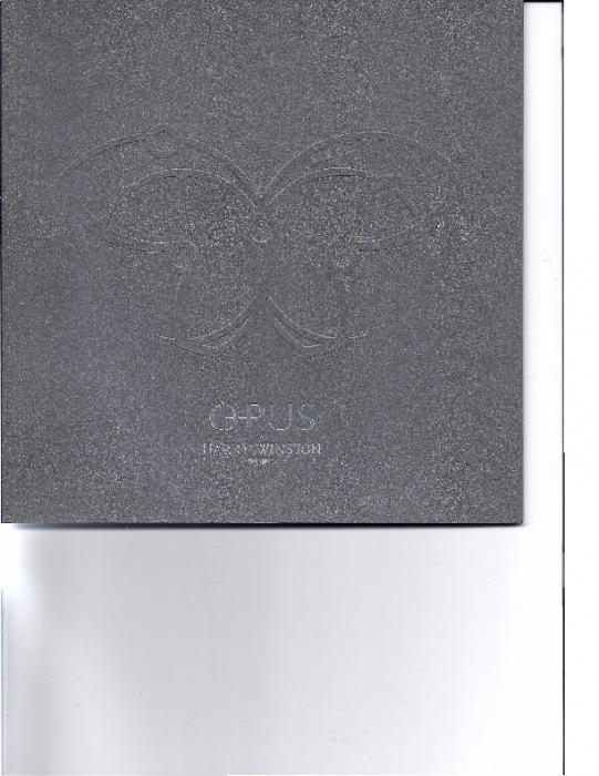 2007 Werbeprospekt Opus 7