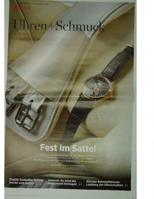 2011 Handelszeitung special Uhren-Schmuck