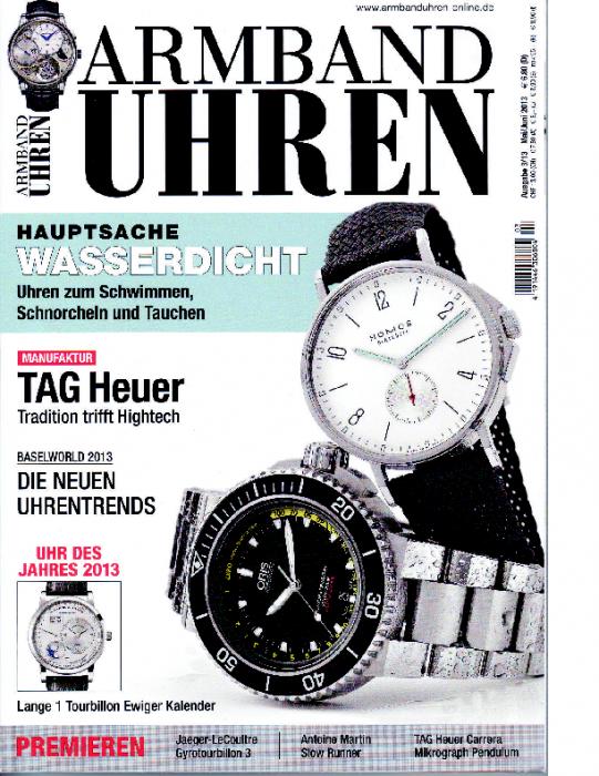2013 Armband-Uhren Mai-Juni