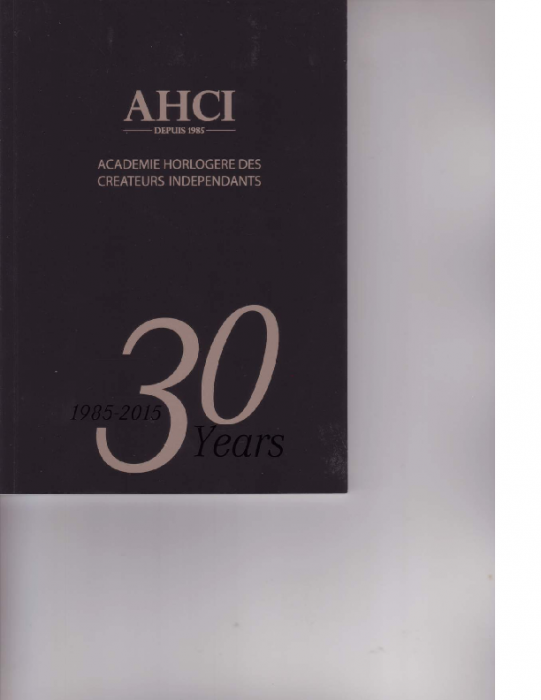 2015 AHCI 30 Jahre